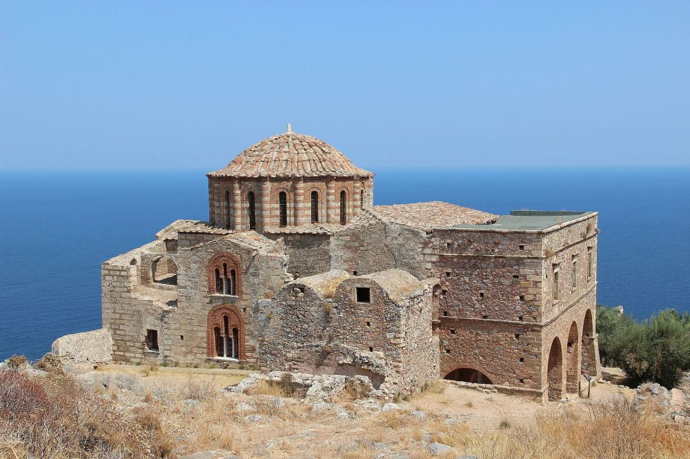 Church of Agia Sophia inside the Castle of Monemvasia
