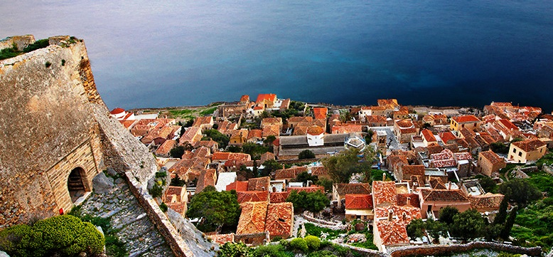 Monemvasia in Kissamitakis GuestHouse by Areti & Patroklos Stellakis, 14-02-2016