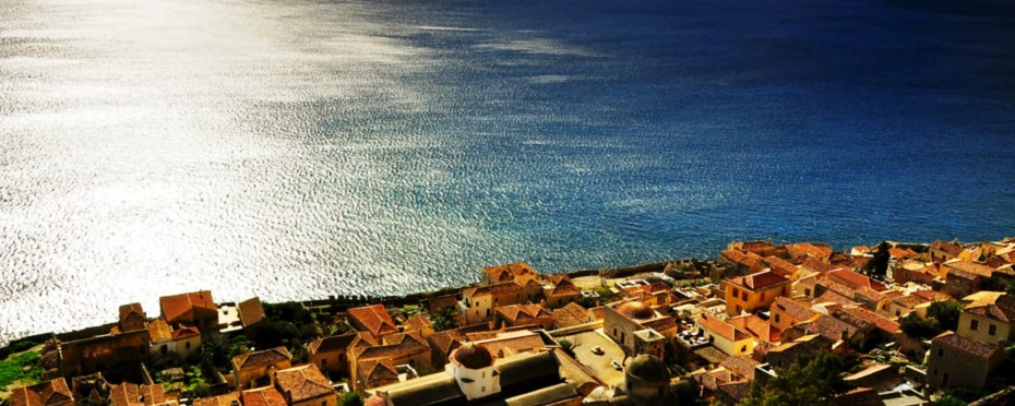 The first morning at Monemvasia in Kissamitakis GuestHouse by Areti & Patroklos Stellakis, 14-02-2016.